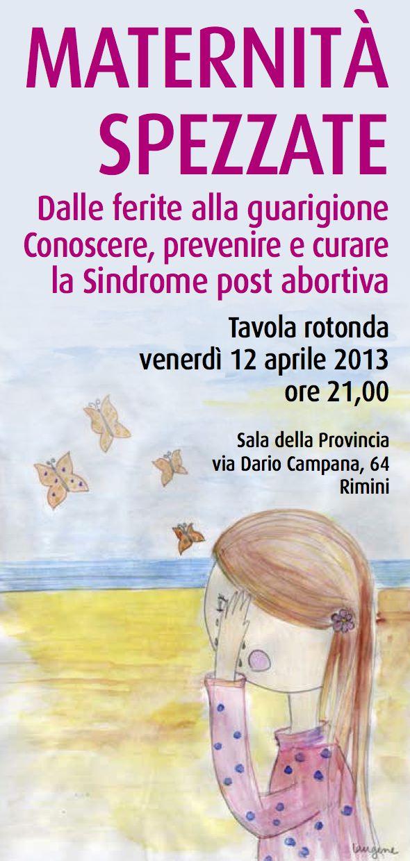 Tonino Cantelmi Convegni sindrome post abortiva 2013